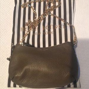 Henri Bendel leather cross body bag